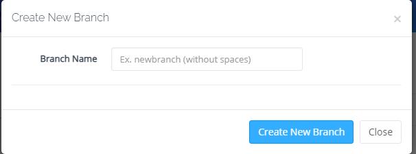 Create New Branch