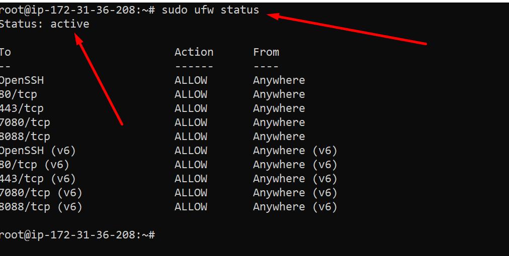 step 2  Configer Firewall