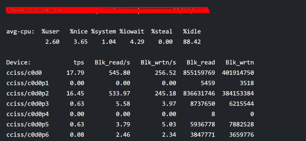 Linux System Monitoring Use Commands and lostat command