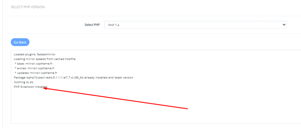 Install Redis Extension in CyberPanel: